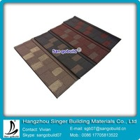 China Corrugated Roof Metal Tiles Milano Metal Tile Roof Products