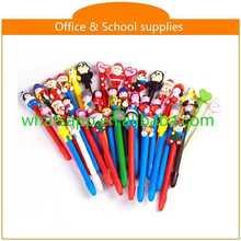 cartoon polymer clay ball pen chunky ball pen