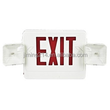 JIMIING -China TOP 1 Emergency Lighting Manufacturer Since 1967 UL Listed Emergency Light Combo JEC2RW W141108ZN