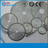 Resin bond diamond grinding wheels for ceramic metal
