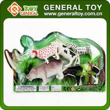 Plastik orman hayvan oyuncaklar, plastik yabani hayvan oyuncak, çiftlik hayvanı ayarlayın