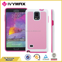 Upper mobile phone accessories for Samsung note 4 pu back cover case