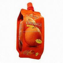 Best quality classical plastic spout top fruit juice bag
