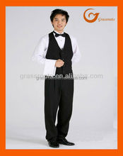 Simple Style Mens Hotel Work Wear Vest Made In China