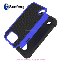 China Guangzhou Factory Silicon+PC Hybrid Armor Cover Case For Samsung Galaxy S6 Active