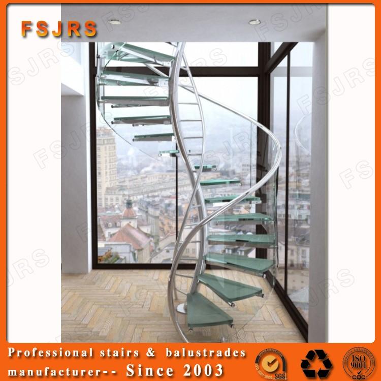 현대적인 목재 계단 치수 외부 나선형 계단-계단 -상품 ID ...