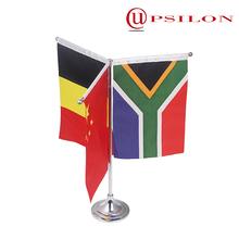 Top quality desktop sectional aluminium flagpole for sale