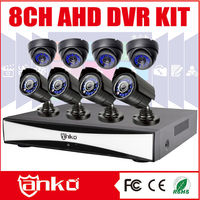 New 8ch standalone hybrid dvr ahd dvr KITS with 720P AHD cameras