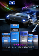 Sanders Car Refinish Paint Epoxy Primer