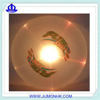 LED fiber optic frisbee Glow in the dark Discs
