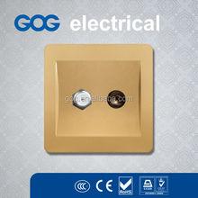 residential/general purpose tv and satellite socket