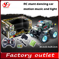 Kids electric stunt car Acrobatics dancing car with MP3 for christmas