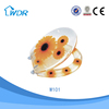 Sun flower sanitary bathroom chinese poly resin slowly down toilet seat