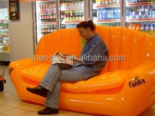 Hot sales PVC inflatable sofa for 3 persons!