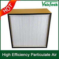 High Efficiency Good Performance Fiberglass Antibacterial Filter for Air Conditioner