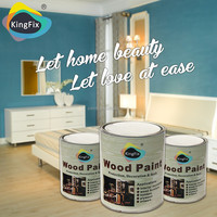 KINGFIX Brand easy sanding NC furniture paint white primer