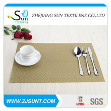 Fashion designer placemats with inserts