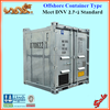 DNV 2.7-1 BS / EN 12079 standard 5ft galvanized offshore container