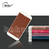 High quality perfect design flip leather wallet cover case s4 mini