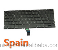 """Replacement spanish keyboard for Apple Macbook Air 13"""" A1466 A1369 MD231 MD232 MC503 MC504"""
