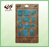 custom adhesive PU leather sticker for kids