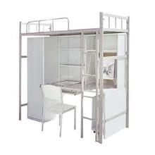 US general hot sale metal bunk beds with desk/new design bunk bed