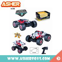 1 14 r c toy high speed drift trucks 1/14 monster rc truck for boys
