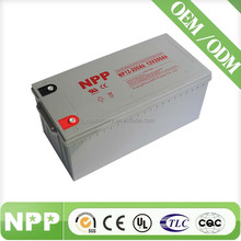 12V 200AH Direct Buy China Storage VRLA Battery For UPS Inverter