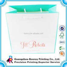Printing large paper shopping bags