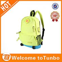 resaltar el color mochila para los niños adolescentes hipster de lona bolsa de la escuela