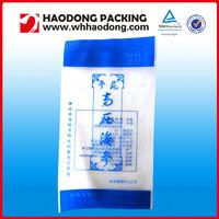 Back Seal Frozen Sea Cucumber Packaging Bag