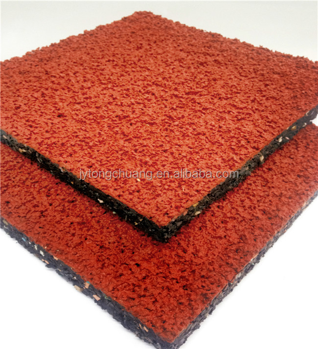 Kindergarten Epdm Rubber Mat Outdoor Rubber Flooring