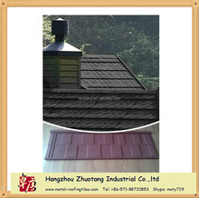 High quality 0.4mm 12 colors stone coated metal roof tile