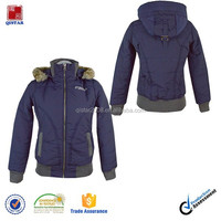 fashion womens winter hooded warm jacket coat