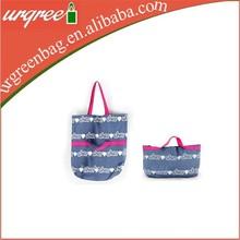 Dual purpose large apacity single shoulder tote bag
