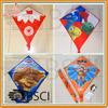 Chinese promotional Diamond kite with heat thranfer printing