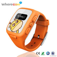 Promotional Cheap Child Phone Smart Watch with GPS Tracking chip From Chinese Factory