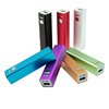 Mobile accessories usb chargers portable 2600mah battery charger recharge