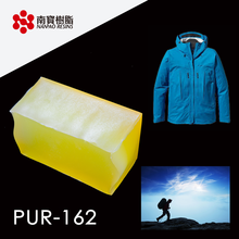 Advanced Amber Transparent Roller coating PUR Adhesive For Textile application