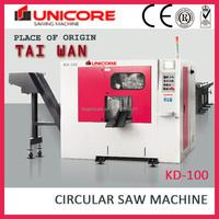 High Efficiency Metal Cut Circular Saw Machine UNICORE kd-100