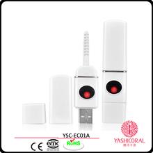 New Arrial Eyelash Handle Eyelash Sticks Newest Womens' Electric Photon Heated Eyelash Curler Brush Extension