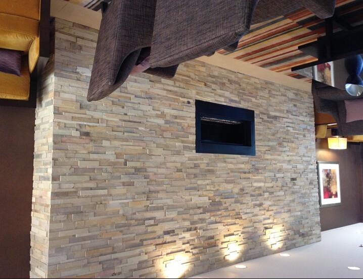 Panel imitacion piedra exterior materiales de for Imitacion ladrillo interior