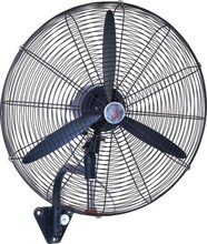 High Speed Industrial Air Cooler Wall Mounted Blade Fan mounted industrial wall fan