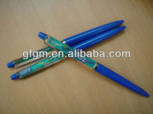 Promotion plasti Liquid pen,Liquid floating pen with 3D floater