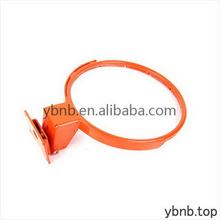 professional metal elastic basketball ring with net