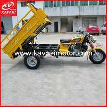 Adult Three Wheel Bicycle Cargo Three Wheel Pedal Cargo Tricycle With Cabin For Option