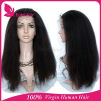 Top quality hot selling brazilian hair Micro braided used lace wigs human for sale