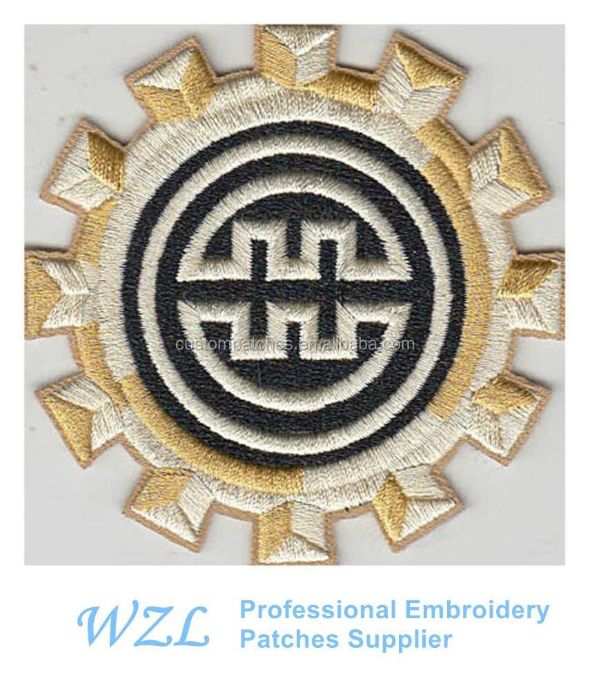 2015 Fashion 3d Embroidery Patch For Sale