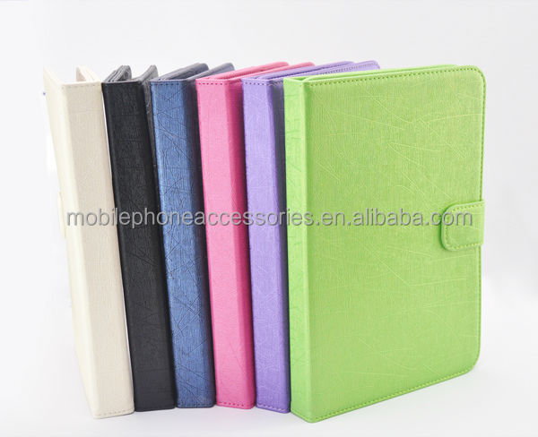 Standing Pc Case rotating leather case for ipad mini 2