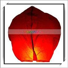 Best Price ! Hot Sale !! Chinese Indoor Floating Paper Lanterns That Fly Red